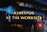 Image of asbestos United States USA, 1980, second 17 stock footage video 65675071889