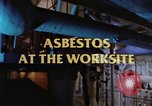 Image of asbestos United States USA, 1980, second 20 stock footage video 65675071889