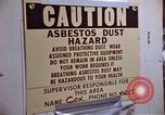 Image of asbestos United States USA, 1980, second 37 stock footage video 65675071893