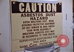 Image of asbestos United States USA, 1980, second 39 stock footage video 65675071893