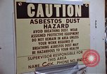 Image of asbestos United States USA, 1980, second 41 stock footage video 65675071893
