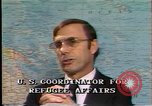 Image of South East Asian refugees Europe, 1980, second 11 stock footage video 65675071919