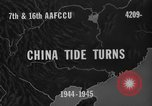 Image of buildings burn China, 1945, second 6 stock footage video 65675071924