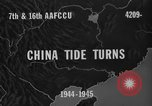 Image of buildings burn China, 1945, second 7 stock footage video 65675071924