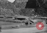 Image of buildings burn China, 1945, second 46 stock footage video 65675071924