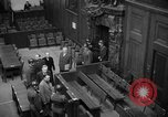 Image of war crimes trials Nuremberg Germany, 1947, second 7 stock footage video 65675071944