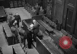 Image of war crimes trials Nuremberg Germany, 1947, second 17 stock footage video 65675071944