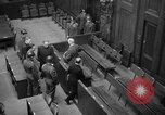 Image of war crimes trials Nuremberg Germany, 1947, second 18 stock footage video 65675071944