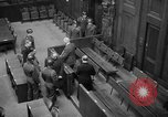 Image of war crimes trials Nuremberg Germany, 1947, second 19 stock footage video 65675071944