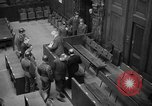 Image of war crimes trials Nuremberg Germany, 1947, second 20 stock footage video 65675071944
