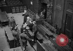 Image of war crimes trials Nuremberg Germany, 1947, second 24 stock footage video 65675071944