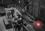 Image of war crimes trials Nuremberg Germany, 1947, second 25 stock footage video 65675071944