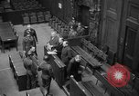 Image of war crimes trials Nuremberg Germany, 1947, second 26 stock footage video 65675071944