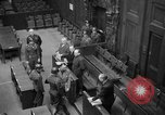 Image of war crimes trials Nuremberg Germany, 1947, second 28 stock footage video 65675071944