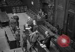 Image of war crimes trials Nuremberg Germany, 1947, second 29 stock footage video 65675071944