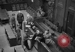 Image of war crimes trials Nuremberg Germany, 1947, second 32 stock footage video 65675071944