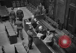 Image of war crimes trials Nuremberg Germany, 1947, second 34 stock footage video 65675071944