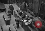 Image of war crimes trials Nuremberg Germany, 1947, second 35 stock footage video 65675071944