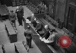 Image of war crimes trials Nuremberg Germany, 1947, second 36 stock footage video 65675071944