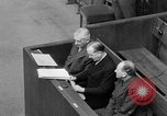 Image of war crimes trials Nuremberg Germany, 1947, second 37 stock footage video 65675071944