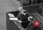Image of war crimes trials Nuremberg Germany, 1947, second 39 stock footage video 65675071944