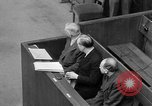 Image of war crimes trials Nuremberg Germany, 1947, second 40 stock footage video 65675071944