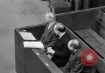 Image of war crimes trials Nuremberg Germany, 1947, second 41 stock footage video 65675071944