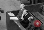 Image of war crimes trials Nuremberg Germany, 1947, second 42 stock footage video 65675071944