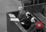 Image of war crimes trials Nuremberg Germany, 1947, second 44 stock footage video 65675071944