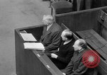 Image of war crimes trials Nuremberg Germany, 1947, second 45 stock footage video 65675071944