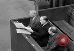 Image of war crimes trials Nuremberg Germany, 1947, second 47 stock footage video 65675071944