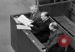 Image of war crimes trials Nuremberg Germany, 1947, second 48 stock footage video 65675071944