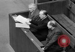 Image of war crimes trials Nuremberg Germany, 1947, second 49 stock footage video 65675071944