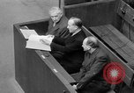 Image of war crimes trials Nuremberg Germany, 1947, second 50 stock footage video 65675071944