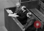 Image of war crimes trials Nuremberg Germany, 1947, second 51 stock footage video 65675071944