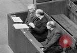 Image of war crimes trials Nuremberg Germany, 1947, second 52 stock footage video 65675071944