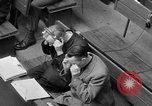 Image of war crimes trials Nuremberg Germany, 1947, second 53 stock footage video 65675071944