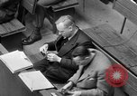 Image of war crimes trials Nuremberg Germany, 1947, second 56 stock footage video 65675071944