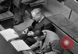 Image of war crimes trials Nuremberg Germany, 1947, second 57 stock footage video 65675071944