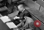 Image of war crimes trials Nuremberg Germany, 1947, second 58 stock footage video 65675071944