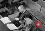 Image of war crimes trials Nuremberg Germany, 1947, second 59 stock footage video 65675071944