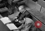 Image of war crimes trials Nuremberg Germany, 1947, second 61 stock footage video 65675071944