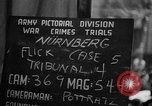 Image of war crimes trials Nuremberg Germany, 1947, second 2 stock footage video 65675071945