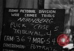 Image of war crimes trials Nuremberg Germany, 1947, second 10 stock footage video 65675071945