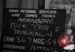 Image of war crimes trials Nuremberg Germany, 1947, second 13 stock footage video 65675071945