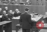 Image of war crimes trials Nuremberg Germany, 1947, second 14 stock footage video 65675071945