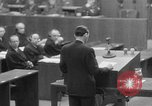 Image of war crimes trials Nuremberg Germany, 1947, second 15 stock footage video 65675071945