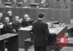 Image of war crimes trials Nuremberg Germany, 1947, second 16 stock footage video 65675071945