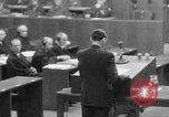 Image of war crimes trials Nuremberg Germany, 1947, second 17 stock footage video 65675071945