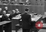 Image of war crimes trials Nuremberg Germany, 1947, second 18 stock footage video 65675071945